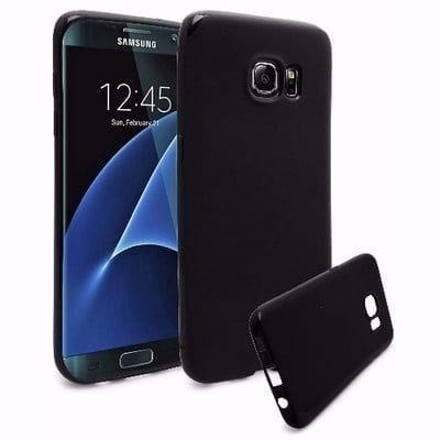 new style 18c4a 94a54 Back Case for Samsung Galaxy S7 Edge - Black