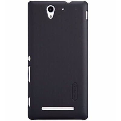 newest 8ed62 6fc1f Back Case for Sony Xperia Z3 L55 - Black