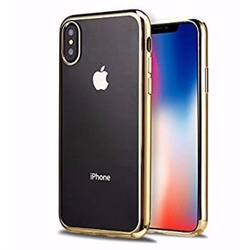 6a8813504f Back Case for iPhone X - Gold | Konga Online Shopping