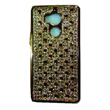 size 40 bef02 6ae2e Back Cover for Infinix Zero 4 Plus - Gold