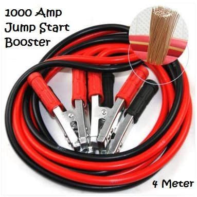 Battery Jump Start Booster Cable - 1000 Amp