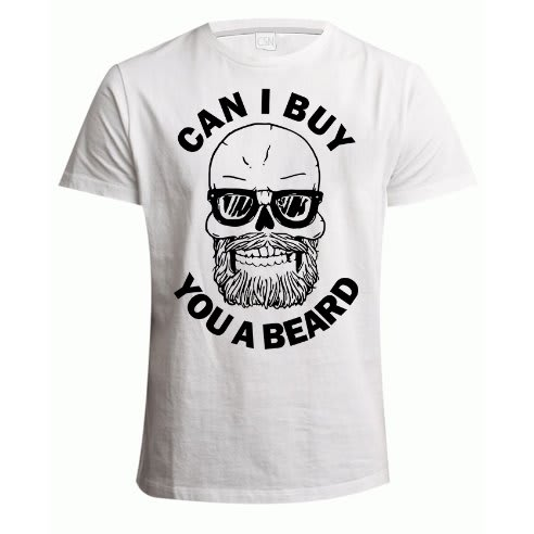 69270ba37 Beard Print T-Shirt - White | Konga Online Shopping