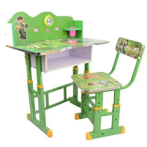 Ben 10 Childrenu0027s Study Table And Chair