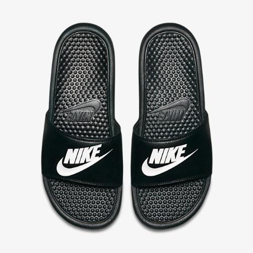 Nike Benassi JDi Slide - Black \u0026 White