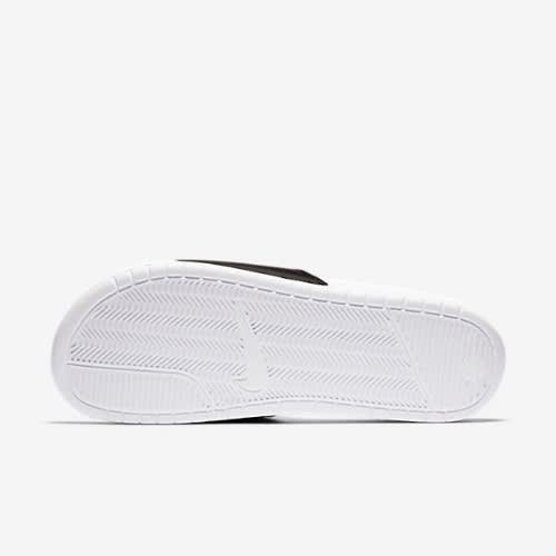 34df5c4c7 Nike Benassi Mismatch Slides - Black, White & Laser Orange | Konga ...
