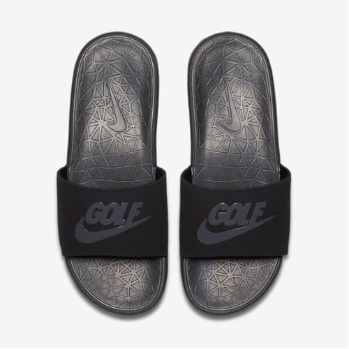 246b3281e Nike Benassi Solarsoft 2 Men s Golf Slide - Black Anthracite