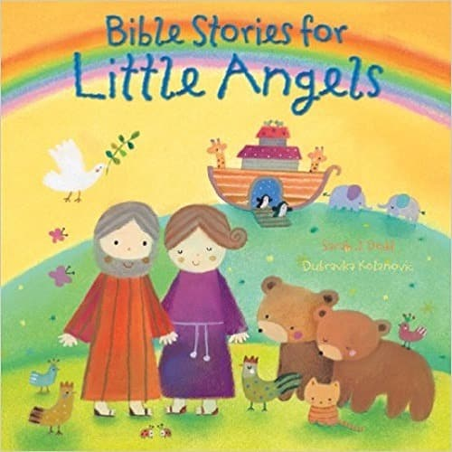 Bible Stories for Little Angels Hardcover