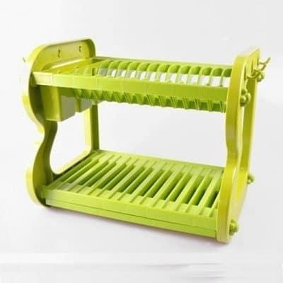 Buy Universal Chef Big Chef Home Basics 2 Tier Plastic Dish Drainer