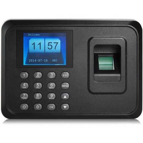 Biometric Electronic Time Attendance Register Machine with Fingerprint  Reader