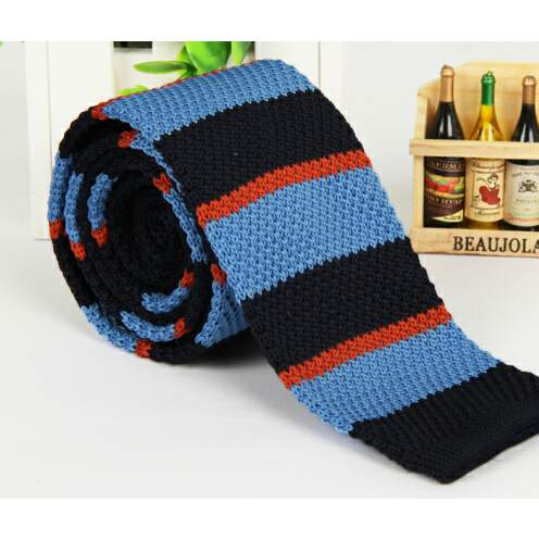 /B/l/Blue-Black-and-Red-Striped-Knitted-Tie-6387982_4.jpg