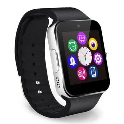 39c4e3367ac Bluetooth GSM Touch Screen Android Smart Wrist Watch - Silver ...