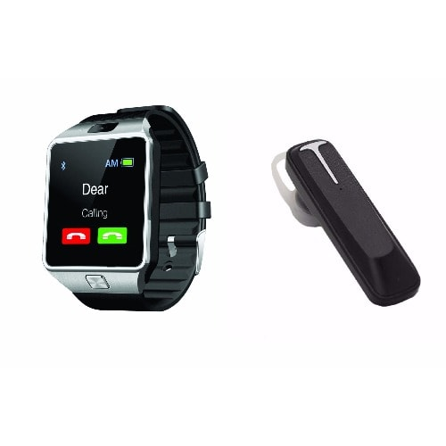 Android Smart Watch + Bluetooth Headset | Konga Online Shopping