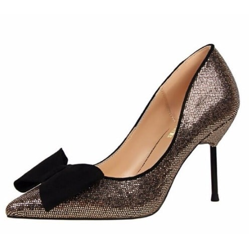 /B/o/Bowknot-Sequined-High-Heeled-Shoes---Gold-7955257.jpg