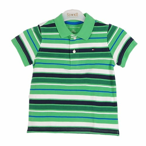 7146501f Tommy Hilfiger Boys' Performance Solid Stripe Polo Shirt | Konga ...