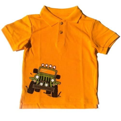 095d9298d Boys' Short Sleeve Pique Polo - Orange | Konga Online Shopping