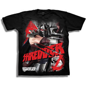 9bcca19ec Boys' Teenage Mutant Ninja Turtles Shredder Tee - Black   Konga ...
