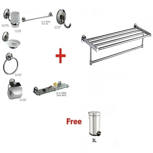 /B/r/Brimix-XOXO-Bathroom-Accessories-Multiple-Towel-Rail-Stainless-Pedal-Bin-3ltrs-Free-7682163.jpg