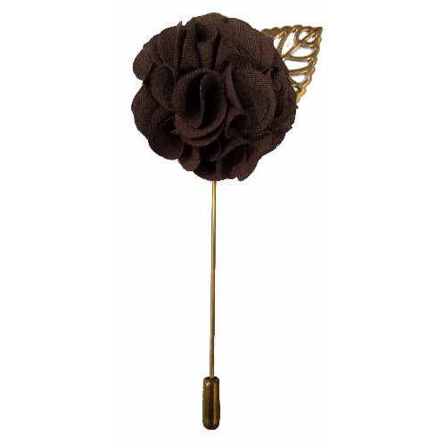 Brooch-Brown