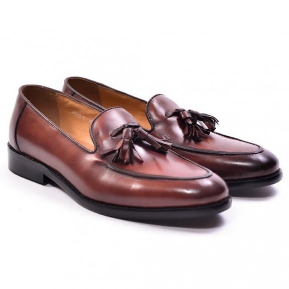 3a2ba56ccda04 Dej Brown Tassel Loafers | Konga Online Shopping