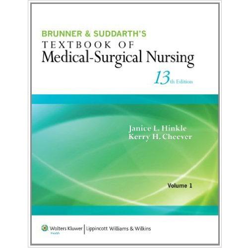 Brunner Suddarth S Textbook Of Medical Surgical Nursing