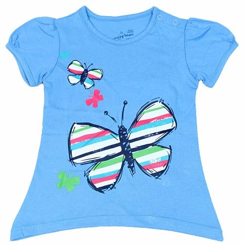 2c385ecf485b62 Butterfly Print Girls' T-Shirt   Konga Online Shopping
