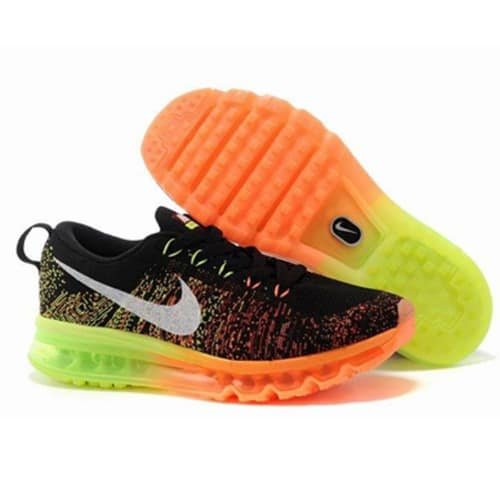 35aaeea9a1a5 Nike Flyknit Max Men s Running Shoes - Multicolour