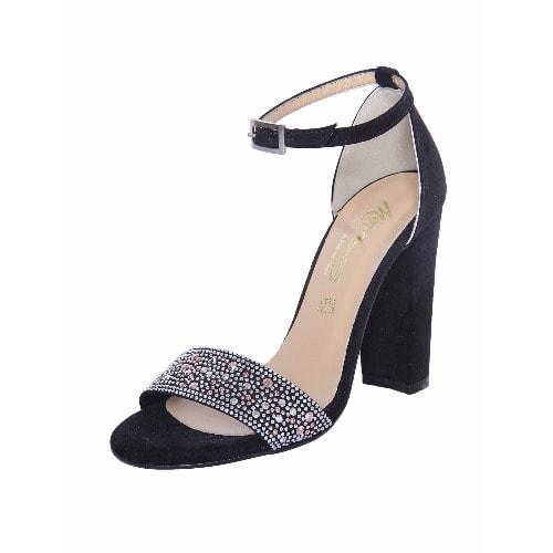 a7f11e4b943 Lady's Block heel Sandals - Black