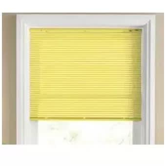 "Venetian Blind - 800 X 800 -w""32 X 32""h Yellow"
