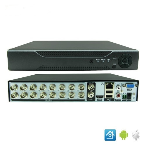 CCTV AHD 8 Channel DVR with Internet & 3G Phone Viewing | Konga