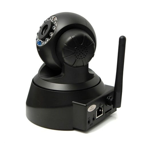 CCTV Surveillance HD 0 3MP IP Camera +WiFi Wireless Network+Monitor