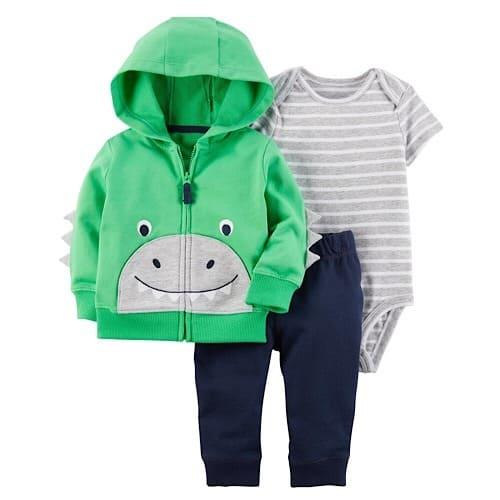 739689400 Carter's Baby Boy Cardigan Hoodie & Bodysuit Set | Konga Online Shopping