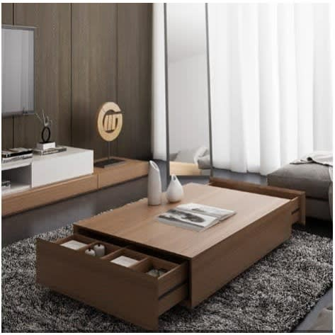 Modern Coffee Table With Storage Brown Konga Online Shopping