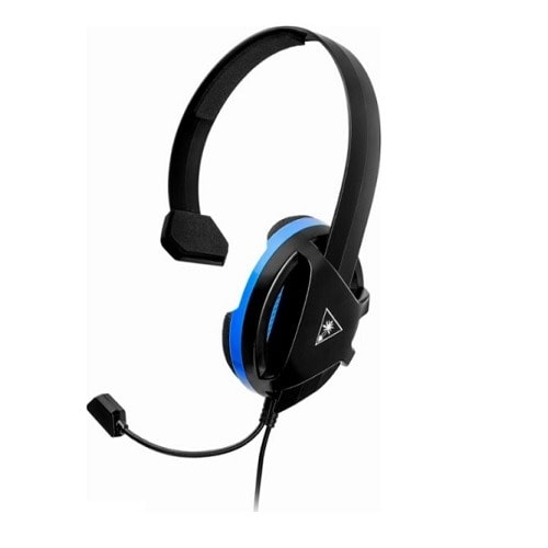 Recon Chat Wired Mono Gaming Headset For PS4, PS4 Pro - Black & Blue