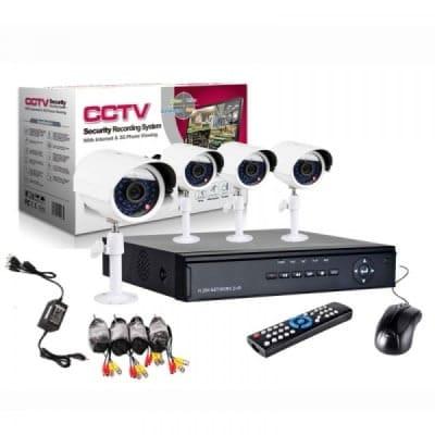 4 Channel Cctv Kit