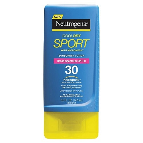 Cooldry Sunscreen Lotion With Broad Spectrum Spf 30.