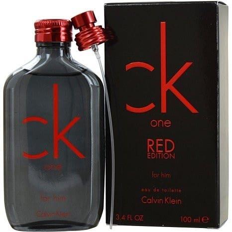 c3171ce89 Calvin Klein CK One Red Edition Eau De Toilette For Him - 100ml ...