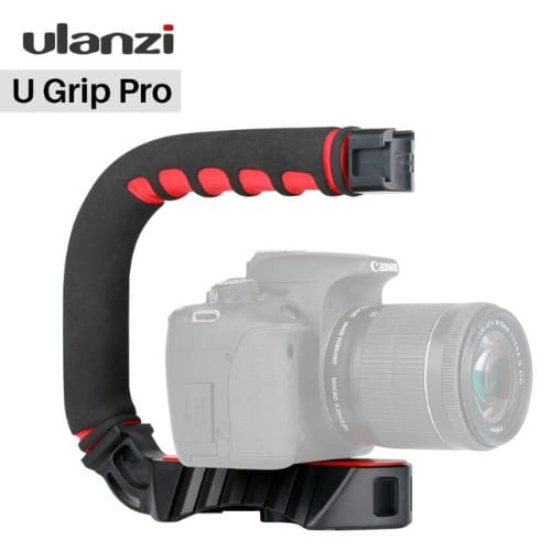 U-grip Pro Video Action Handheld Stabilizer Rig Hot Shoe
