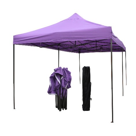 best service d95e5 5fc63 Outdoor Foldable Tent Umbrella - Purple