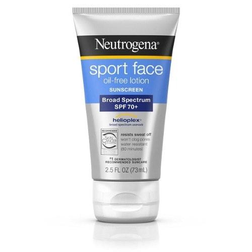 Sport Face Sunscreen Lotion Spf 70+ 2.50oz.