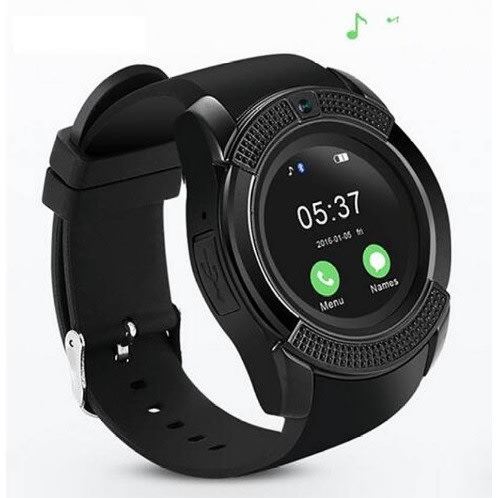 Universal Sporty V8 Smart Watch Bluetooth/Sim Card