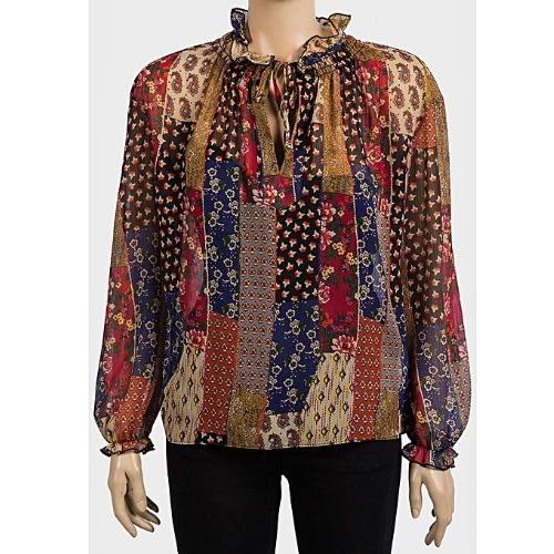 320c084c1b99a5 Primark Atmosphere Ladies Long Sleeves Chiffon Floral Top | Konga ...