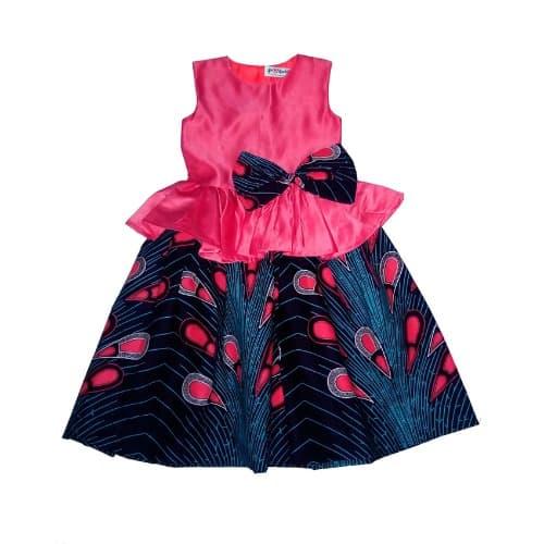 b571bc42f MH Marita Huurinainen Ankara Kids Dress - Bebe Fairy-tale | Konga ...
