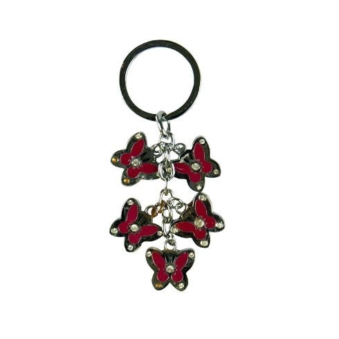 Butterfly Key Holder - Red