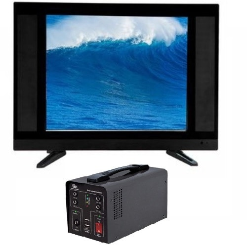 "24"" LED AC DC TV + Solar Inverter"