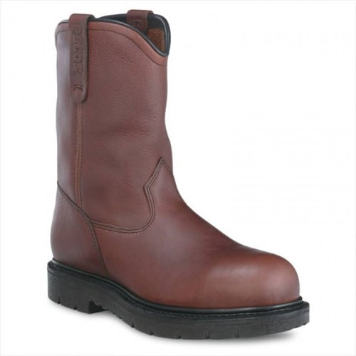 1185b8e5c7a Red Wings Workers Safety Shoes - Brown