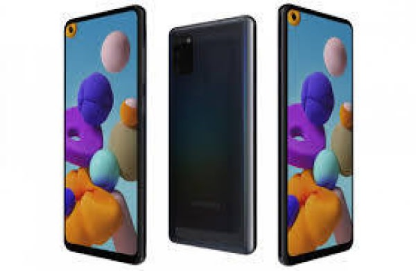 Galaxy A21s-black-4gb Ram + 64gb Rom, Dual Sim, 13mp, 5000mah.