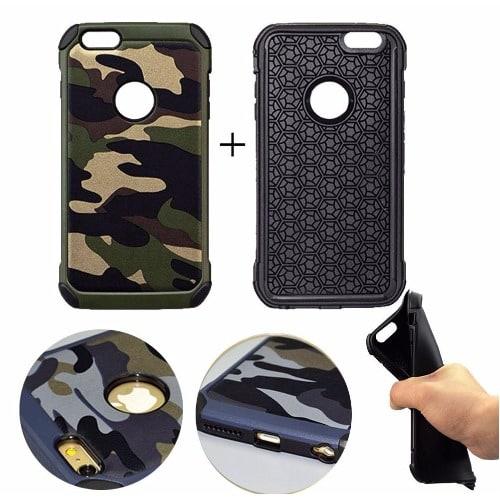 hot sale online fdbed 72805 Camo Defender Back Case for iPhone 5, 5S, SE & 5C