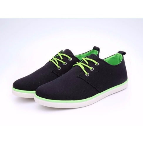 4ae03aea90e8 Canvas Sneakers - Black