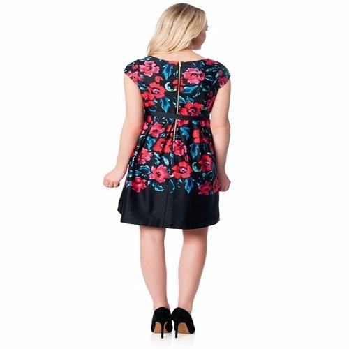 /C/a/Cap-Sleeve-Pleated-Dress---Multicolour-4968735_2.jpg
