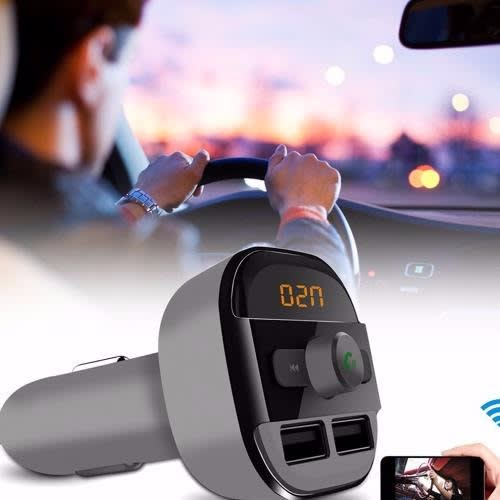 Car Bluetooth FM Transmitter MP3 Player Charger